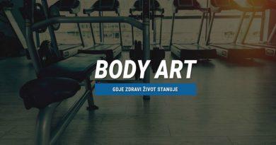 Body Art – fitness centar