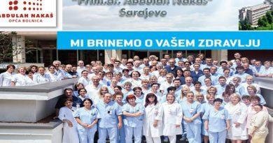 """J.U. Opća bolnica """"Prim.dr. Abdulah Nakaš"""" Sarajevo"""